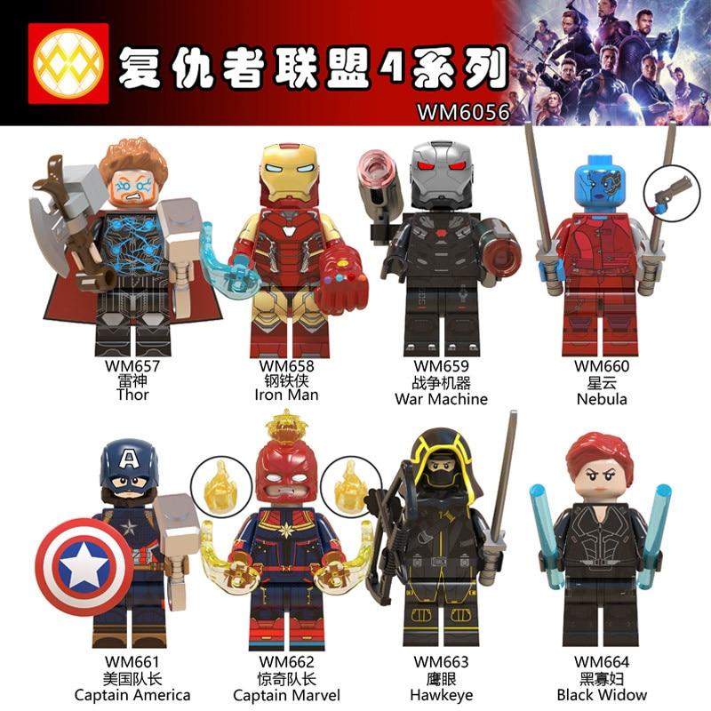 Lego ® Minifigures figurines Serie Marvel Hawkeye Avengers endgame