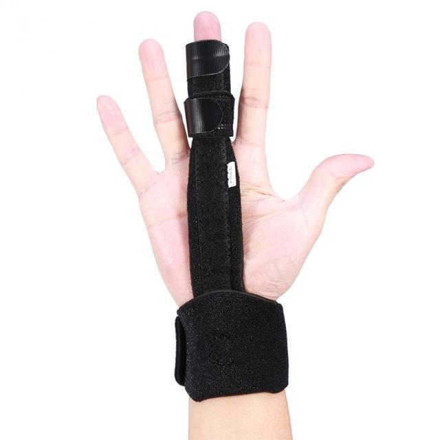 Adjustable Finger Splint Joints Fractures Stabilizer Trigger Finger ...
