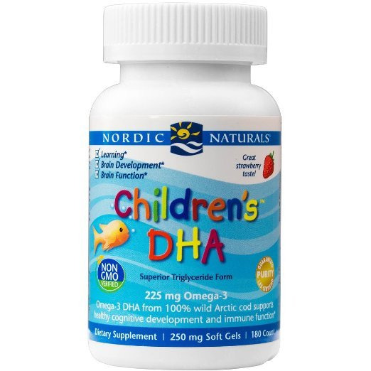 Nordic Naturals-детская DHA, здоровый Когнитивного Развития и Иммунной Функции, 180 Мягких Гелей