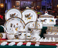 European Dishes Home Dishes Jingdezhen Phnom Penh Fine Bone China Tableware