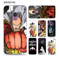 Transparent Soft Silicone Phone Case Anime Bleach One Punch Man for Samsung Galaxy Note 9 8 S9 S8 Plus S7 S6 Edge S5 S4 Mini