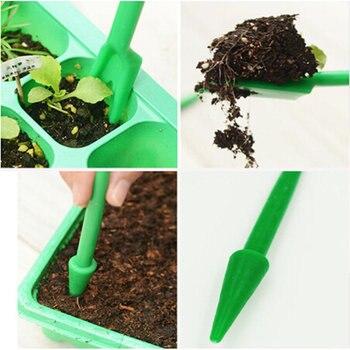 2 шт./компл. инструменты для посадки саженцев садовый инструмент подъемник удобрение для бонсай аппарат для бурения рассады