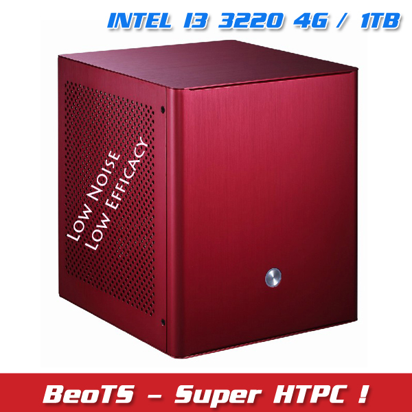 HOT Mini PC Super HTPC Intel B75 I3 3220 1TB HDD 4G Memory Ultra-low-efficacy