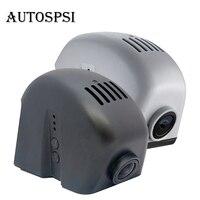 AUTOSPSI 1080 P WIFI לוח מחוונים רכב dvr h 264 מקליט וידאו הדיגיטלי עבור 15 אאודי A3/Q7 (אפור & שחור) יחיד לן & כפול לן אופציונלי