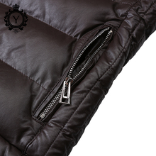 COUTUDI Winter Leather jacket PU leather Coat Faux Leather