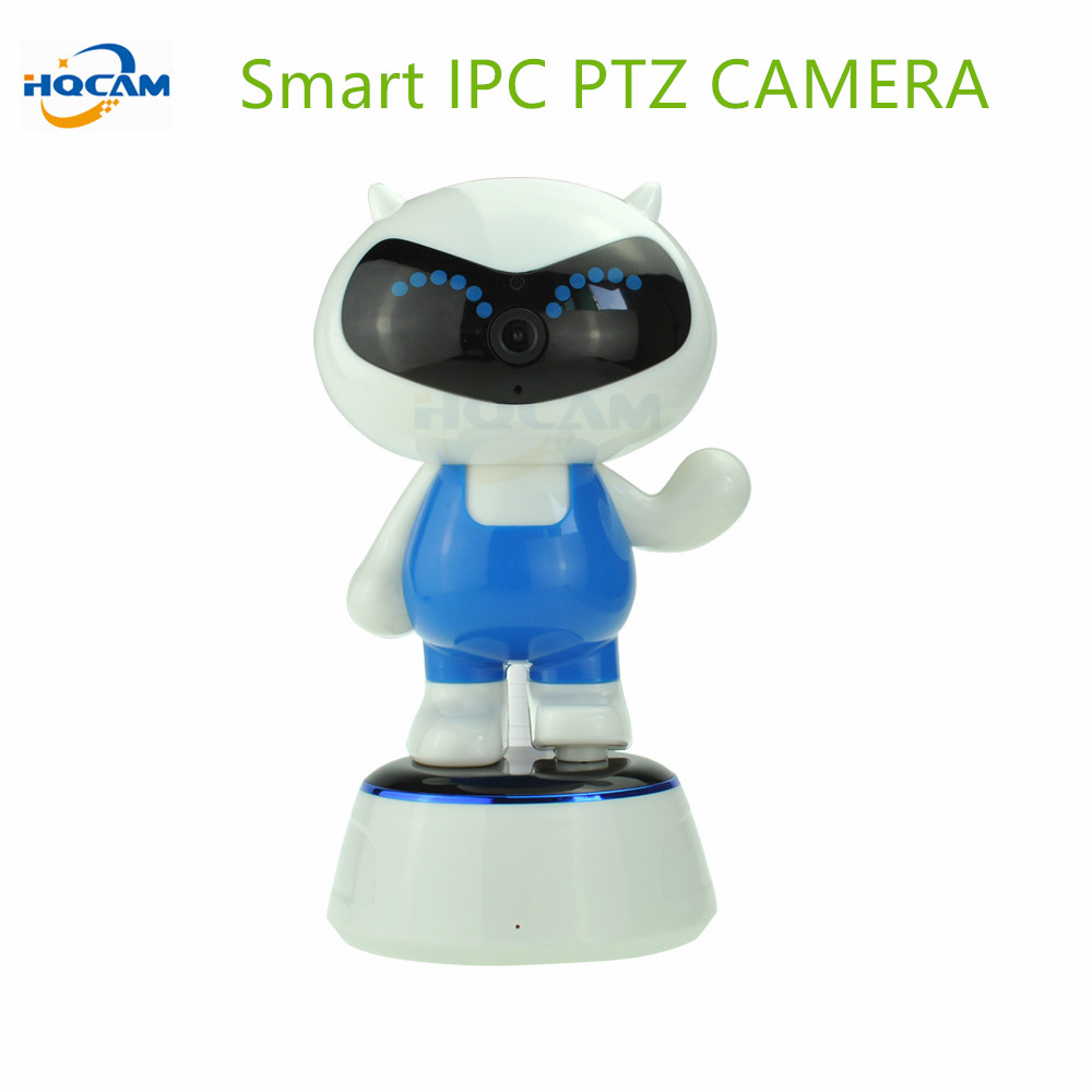 HQCAM 720P 1.0MP WIFI IP Camera Wireless IR-Cut Night Vision Two Way Audio PTZ Surveillance Camera P2P Cloud Mobile APP View