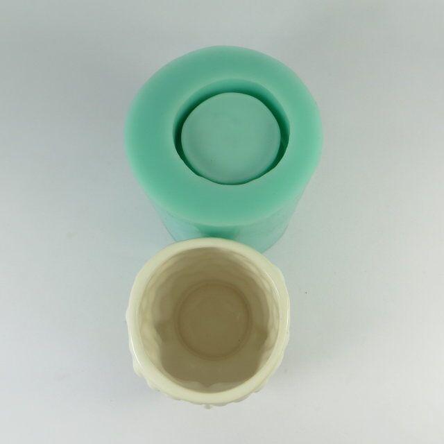 Szilikagél szilikon öntőforma 3d váza öntőformák cement - Konyha, étkező és bár - Fénykép 4