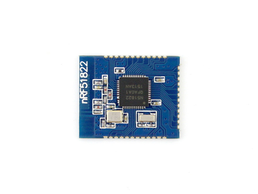 Core51822 (B) BLE4.0 Bluetooth 2.4G Wireless Module, NRF51822 Onboard Rev3, Features 32kB RAM, Supports Higher Version SDK