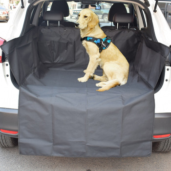 Quilted Dog Cargo Cover for SUV, Universal Fit for Any Pet Animal. Durable Liner Covers and Protects Your Vehicle