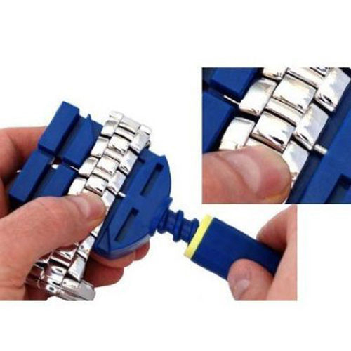 2017 New Arrival Watch Band szczelina pasek Link bransoletka Chain Pin Remover regulator zestaw narzędzi do naprawy 28mm dla mężczyzn/kobiet zegarek