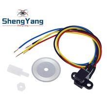 Sensor de velocidade fotoelétrico codificador codificado disco roda código para freescale carro inteligente 5v para arduino diy