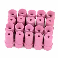 20Pcs Set Sandblaster Replacement Air Sand Blasting Ceramic Nozzles Tips 4 5mm For Sand Blast Gun