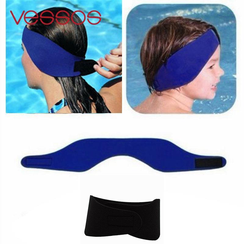 Neoprene Ear Band Head Band Swimming Bathing Head Protector Cap Wrap  Adjustable - us685 0cdca46cd7bc