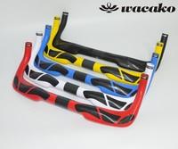 wacako 3K gloss TT T700 TT handlebar Time Trial Handlebar Track Bike Parts internal carbon handlebar 31.8*380/400/420/440/460mm