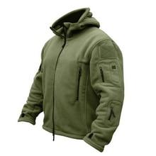 Мужская Флисовая тактическая флисовая куртка на открытом воздухе теплая спортивная походная куртка с капюшоном верхняя одежда армейская одежда уличная одежда