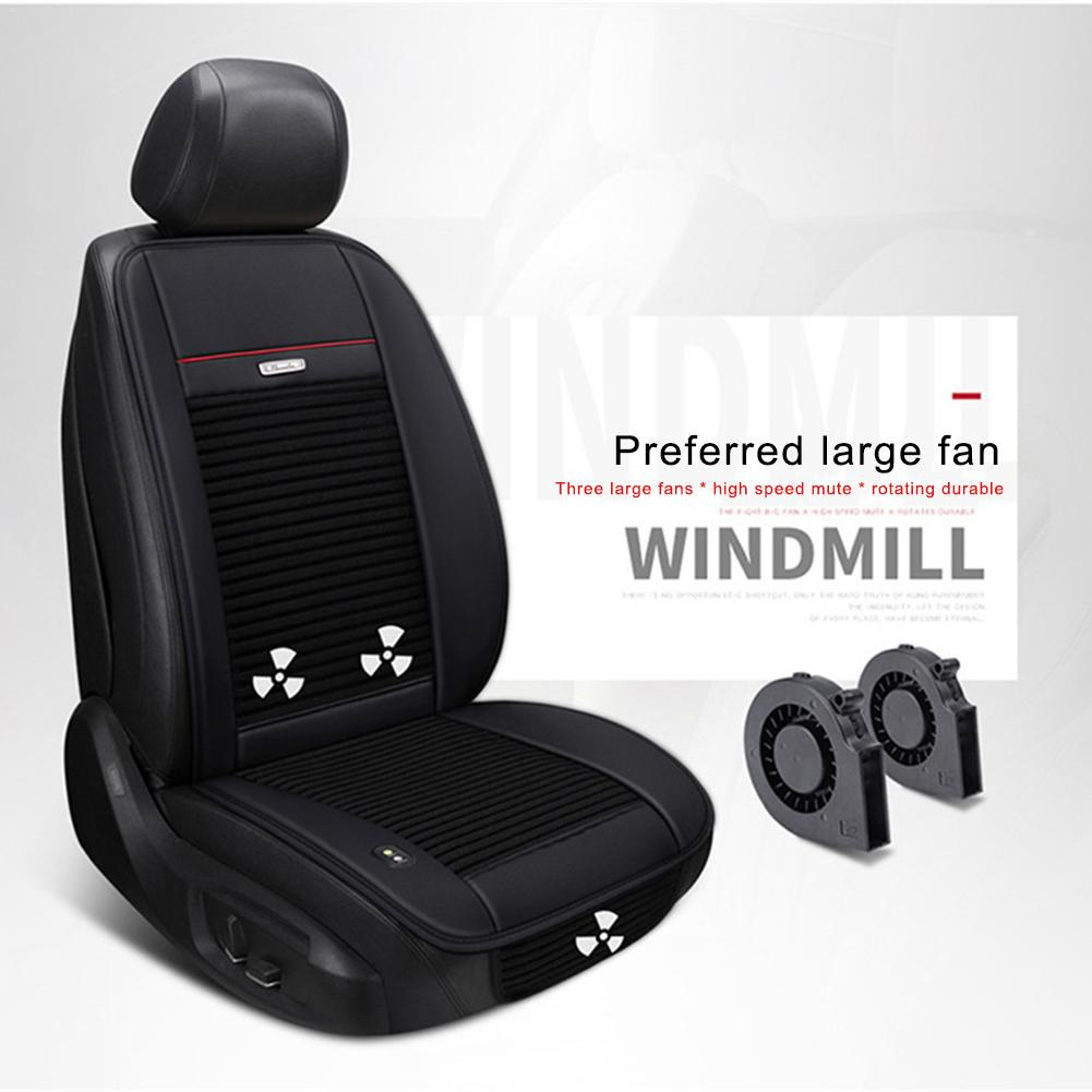 Summer Car Seat Ventilation Mat Summer 3 Fans Single Cold Pad Multi - Function Cooling Pad Car Cushions Ventilated Seat CushionSummer Car Seat Ventilation Mat Summer 3 Fans Single Cold Pad Multi - Function Cooling Pad Car Cushions Ventilated Seat Cushion