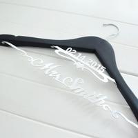 Bride Hanger Personalized Hanger For Wedding Dress Or Wedding Party Gift Bride Gift Bridesmaids Gift Double