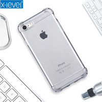X Level Soft TPU Crashproof Case For IPhone 7 High Quality Luxury Back Cover For IPhone