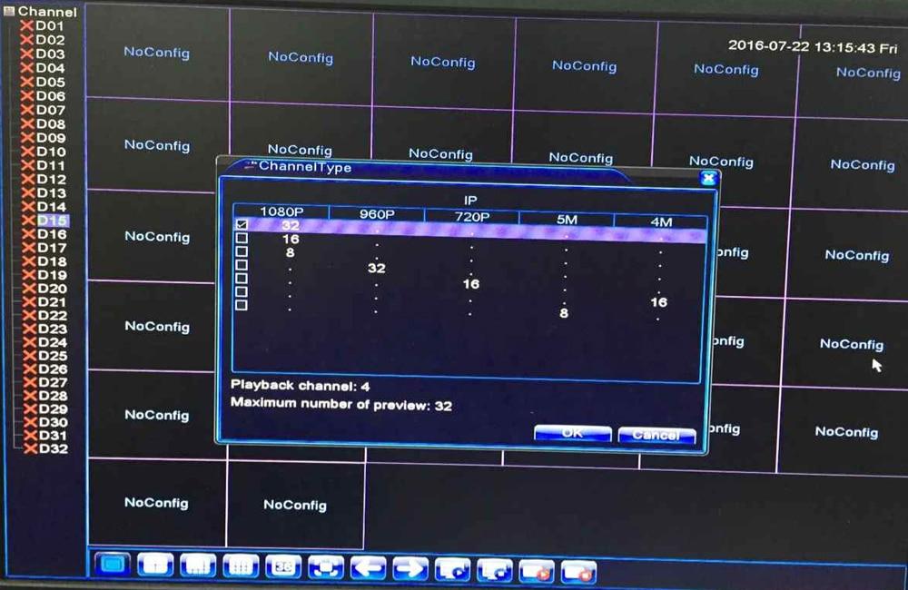 BEST SALE) Full HD 1080P CCTV NVR 32CH HI3535 Processor Security