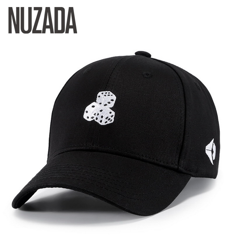 Brand NUZADA Spring Summer Black Classic Men Women Couple Baseball Cap High Quality Design Cotton Caps Bone Hats Snapback airgracias elasticity jeans men high quality brand denim cotton biker jean regular fit pants trousers size 28 42 black blue