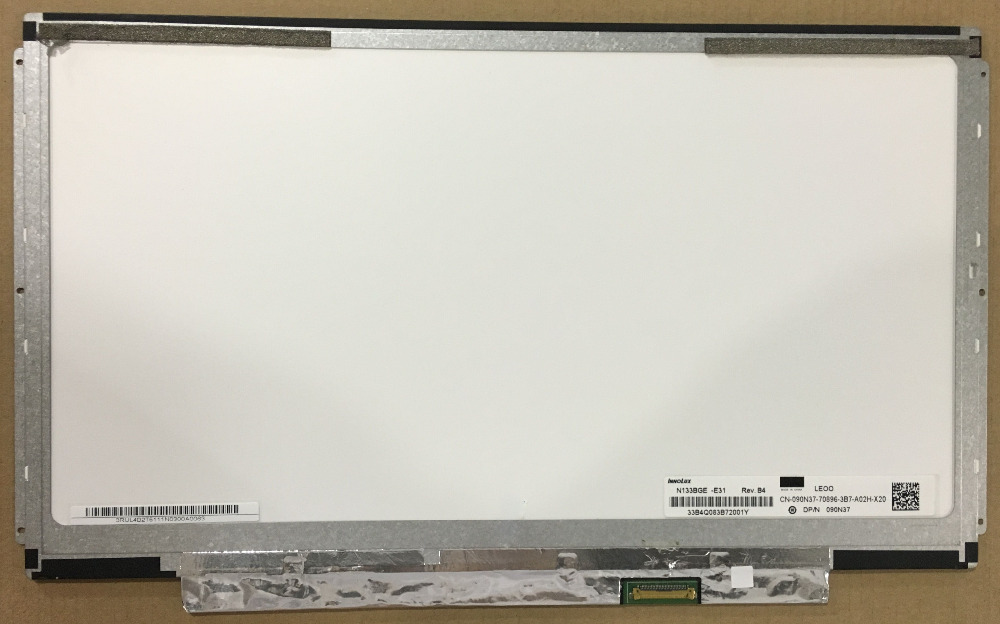 N133BGE-E31 fit B133XTN02.1 B133XTN02 LTN133AT31 EDP interface(30pin) Slim Laptop LCD Screen