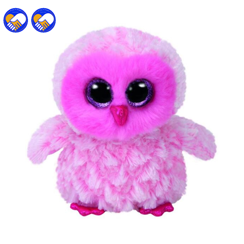 A toy A dream Ty Beanie Boos Twiggy the Owl 6 Plush Beanie Babies Stuffed Collectible So ...