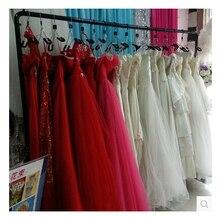 Европейский контракт платье cheongsam платье дисплей стойки тип этаж магазин одежды вешалка женская сторона к стене висит