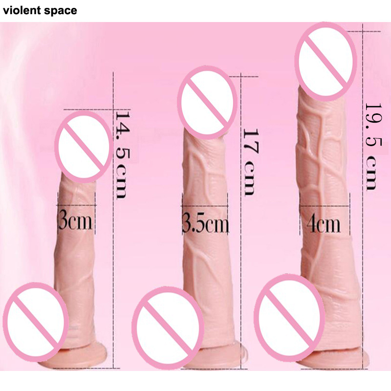 Suction cup dildo Realistic penis Adult sex toys for woman Strapless strapon Dildos for women Anal Dildo huge Sex shop Sextoys 16 5 inch long dildo realistic big dildo black huge penis swords shape adult sex products anal sex toys for women sex shop