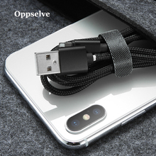Oppselve 14cm Cable Organizer Holder Wire Winder Earphone Mouse Cord Clip Aux USB Cable Management Protector For iPhone Samsung 0 5m cable organizer wire winder clip earphone holder mouse cord protector cable management fit for iphone samsung usb cable