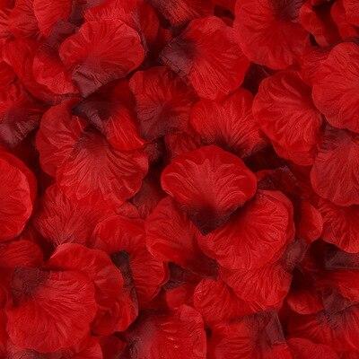2000pcs/lot Wedding Party Accessories Artificial Flower Rose Petal Fake Petals Marriage Decoration For Valentine supplies 39