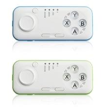 Dos Colores Mini Bluetooth 3.0 Controlador de Juego Gamepad Joystick Gamepad Inalámbrico Para iOS Android TV Remoto Para usos Múltiples