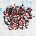 50/100/200 шт. моделирования муравьи Пластик Реалистичная муравьев розыгрыши для фокусов Хэллоуин стимулирующий игрушки