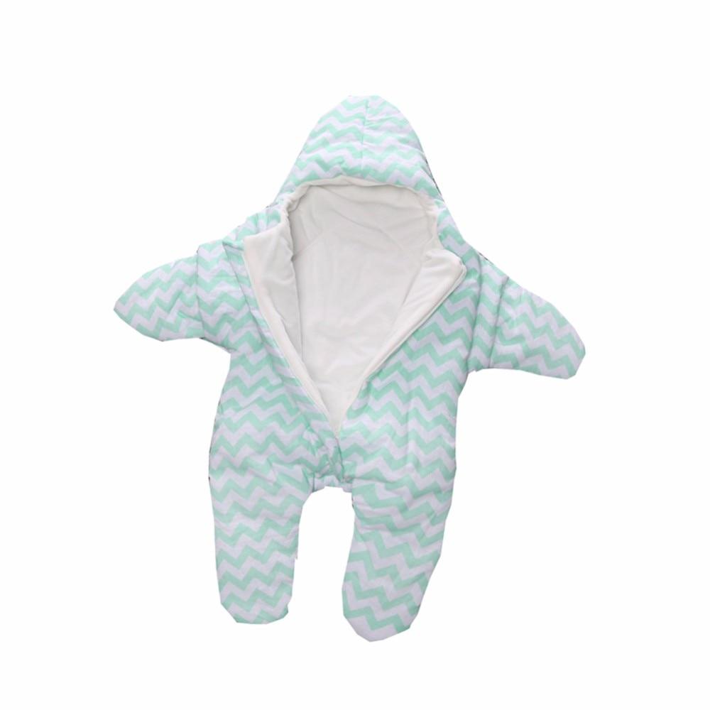 все цены на Baby Sleeping Bag Winter Sleep Sack Warm Baby Blanket Swaddle Sleeping Bags With Hat Autumn Envelope For Newborns 2018