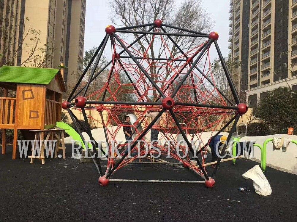 Us 48380 Premium Quality Net Rope Dome Climbing Gym Children Playground Hz14 133m In Playground From Sports Entertainment On Aliexpresscom
