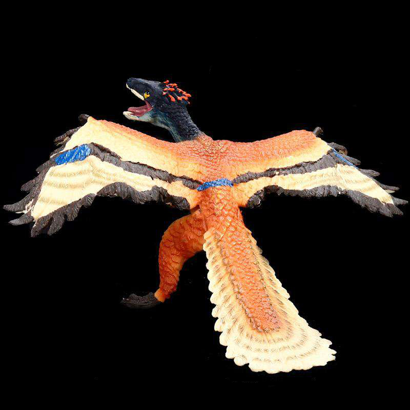 Toys Gift-Ornaments World-Model Dinosaur Jurassic Biological Children's Archaeopteryx