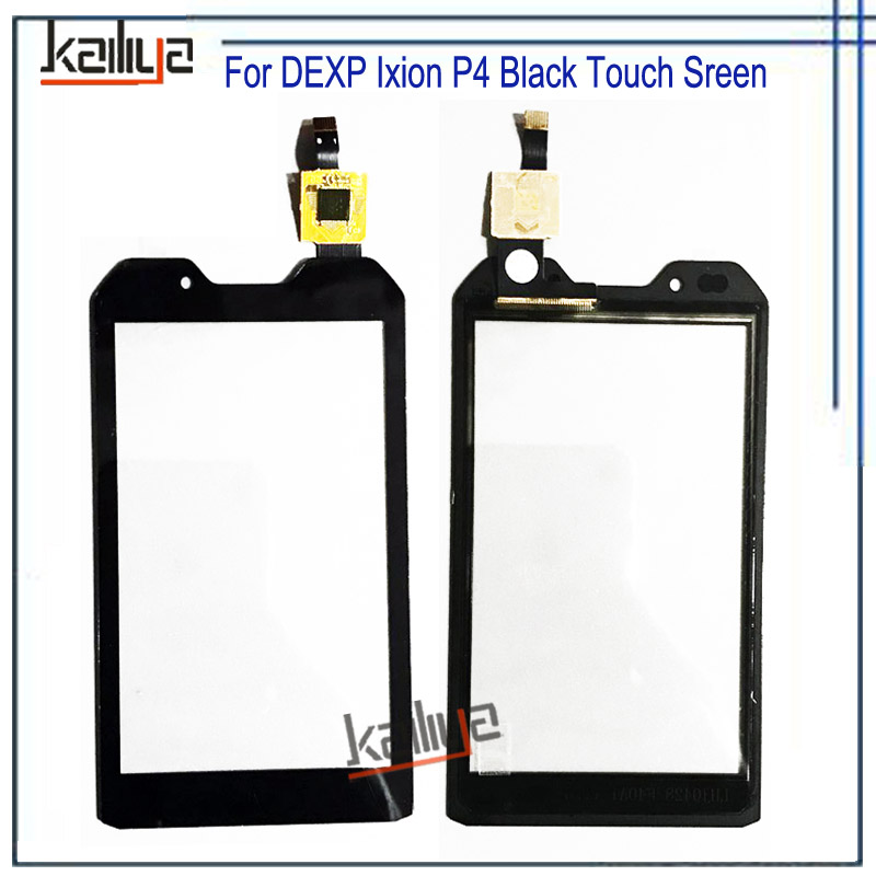 Black NEW For DEXP Ixion P4 P 4 Touch Screen Digitizer 4 0'' Outer Glass  Lens Sensor For DEXP Ixion P4 P 4 Mobile Phone Screen