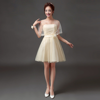 Fashion Children Prom Prom Summer Plus Size Champagne Cocktail Short Party Dresses Big Girls Dress for 14 15 16 Years Teen Girls