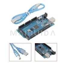 Mega 2560 R3 Mega2560 REV3 ATmega2560-16AU Board (+ USB) Cable compatible for arduino good quality