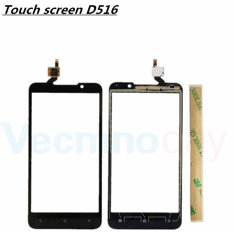 5.0 Écran Tactile Pour HTC Desire 516 Avant Digitizer Avant Lentille En Verre Panneau Capteur de Haute Qualité