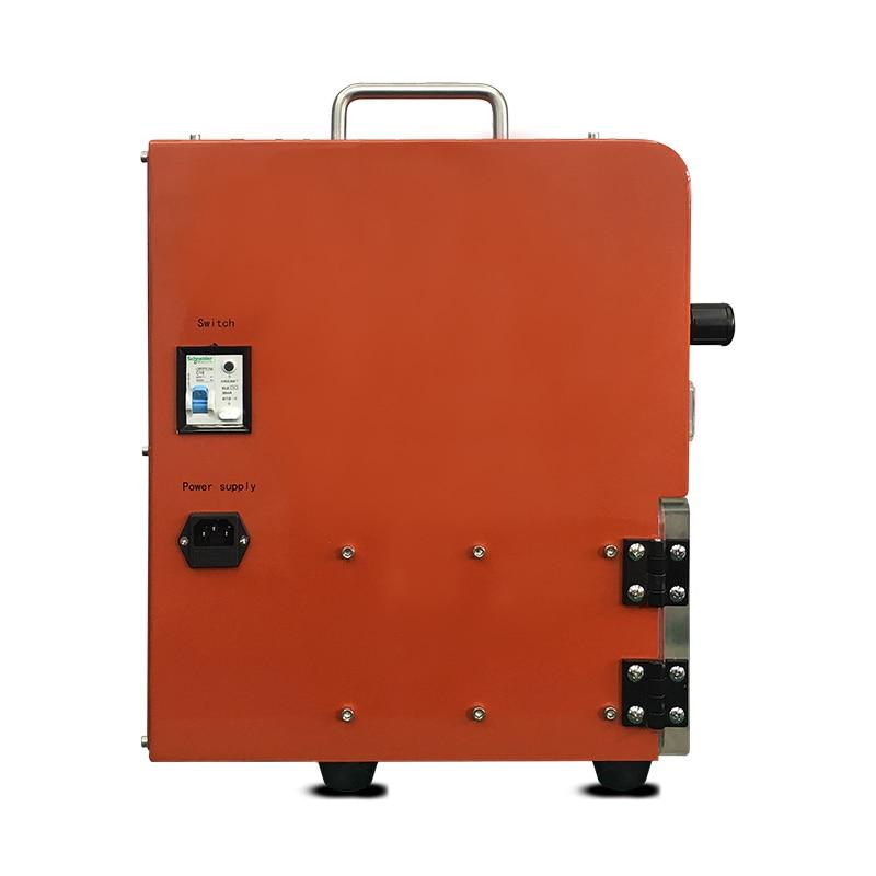 Orange Q5 LCD Refurbish Vacuum Laminating Machine OCA Laminator For Flat Edge Tablets Screens Glass Replace Lamination Machine in Power Tool Sets from Tools