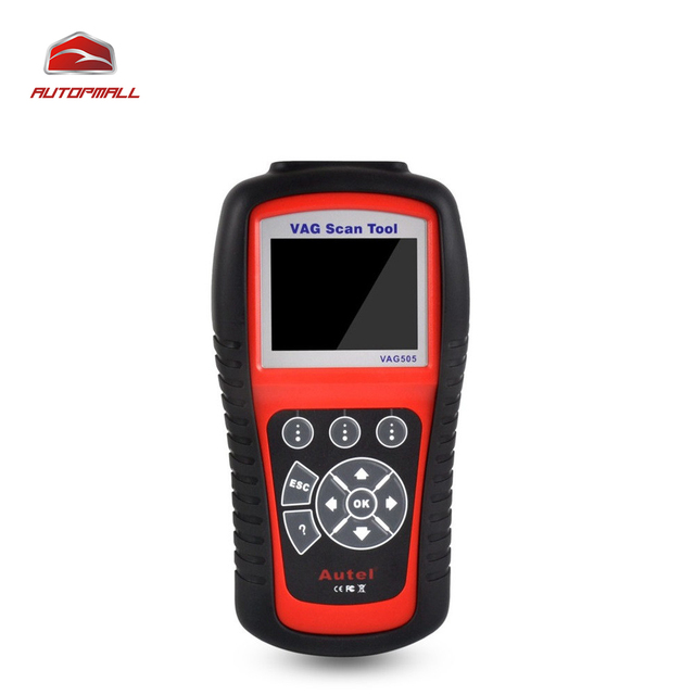 OBDII OBD2 Herramienta de Diagnóstico de Autel VAG505 MaxiService VAG Dispositivo Portátil 505 Código Lee y borra los Códigos de Diagnóstico