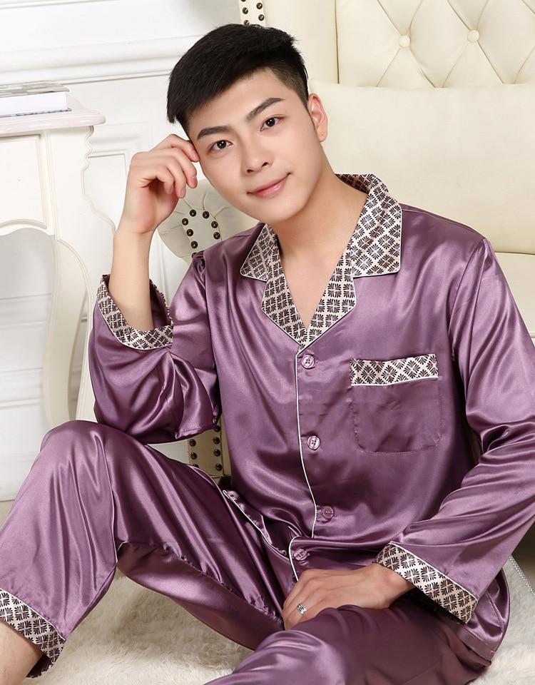 Underwear & Sleepwears Provided Silk Women Nightwear Long Sleeve Blouse And Short Shorts 2 Pieces Sleepwear Female Summer Sexy Pajama Set