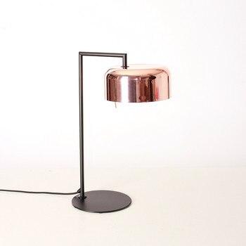 Постмодерн модная настольная лампа для чтения в скандинавском стиле простая железная прикроватная настольная лампа для спальни