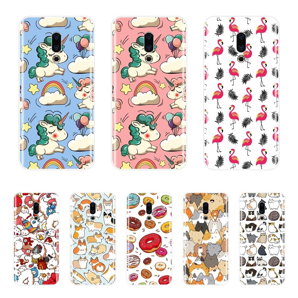 Phone Cases For Meizu 15 Lite 16 Plus 16th 16x Fundas Coque For Meizu U10 U20 Pro 6 7 Plus Silicone Case Soft Back Cover