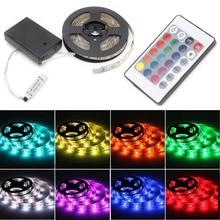 YAM IP65 Wasserdichte RGB 50-200 cm 5050 Wasserdichte Flexible Lampe Led Streifen Licht + 24 Tasten Fernbedienung Mit AUF/AUS-Taste