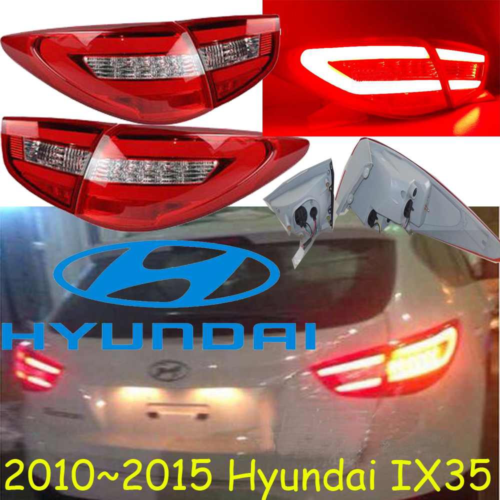 ФОТО IX35 taillight,2011~2015,Free ship!LED,4pcs/set,IX35 rear light,IX35 fog light;Tucson IX35