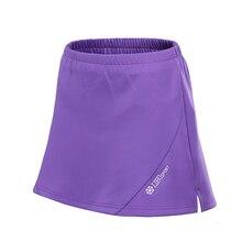 Женская Спортивная юбка, спортивные шорты для бадминтона, теннисные юбки с защитными шортами