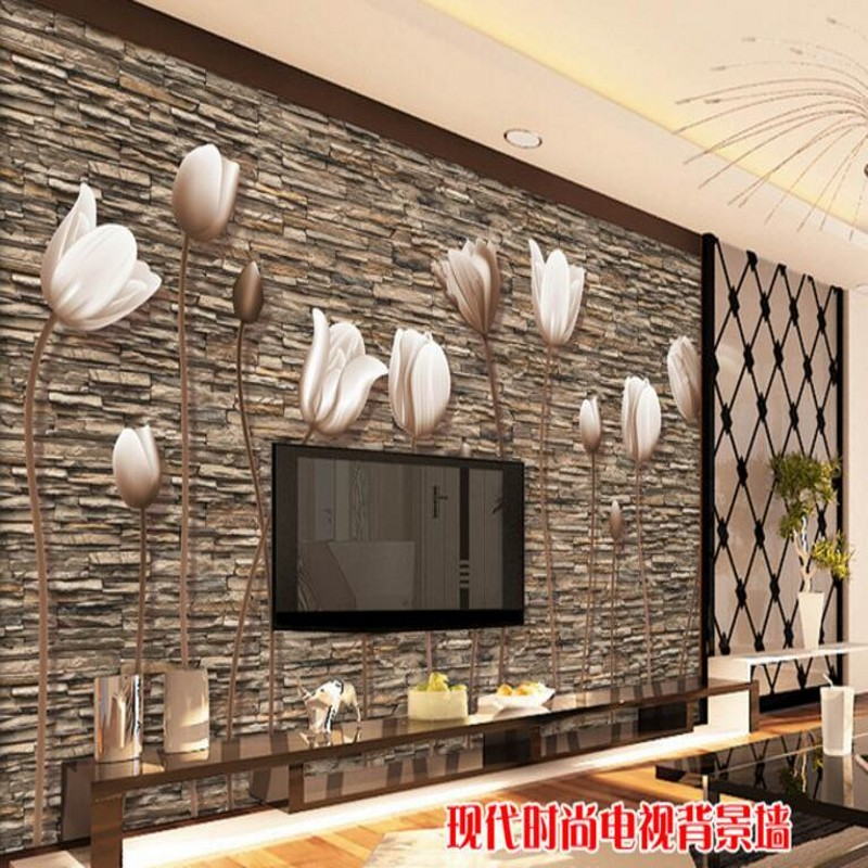 Piedras pared interior affordable with piedras pared for Pared de piedra salon