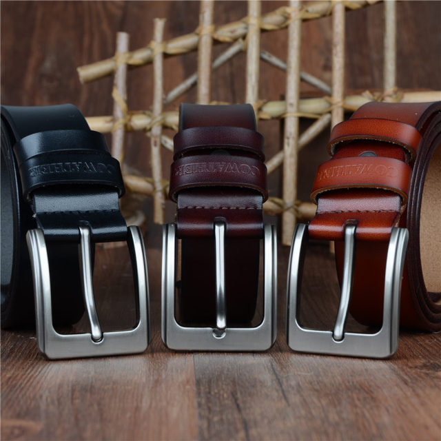 Wide Range of Genuine Leather Belts for Men