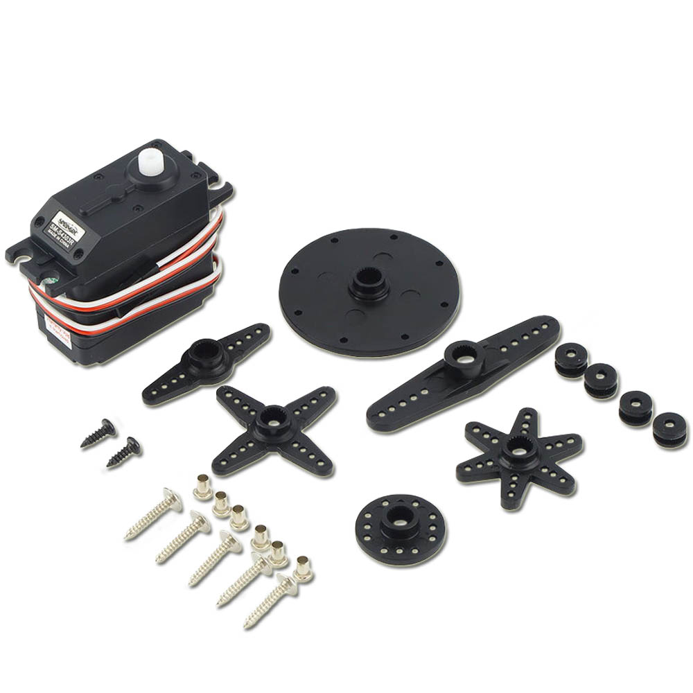 1 Set 360 Degree Spring SM-S4303R Large Continuous Rotation Plastic Servo for Robot монопод red line с bluetooth кнопкой алюминий